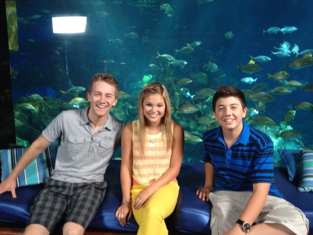 With Olivia Holt  Jason Dolley And Bradley Steven Perry- Watch HereOlivia Holt And Bradley Steven Perry