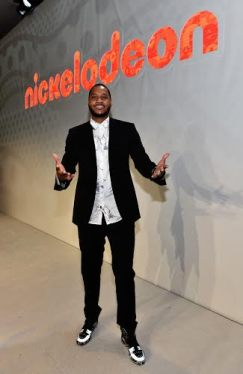NBA superstar Carmelo Anthony debuts Turtles by Melo onstage at the Nickelodeon presentation at Licensing Exp on Tuesday, June 9, 2015, in Las Vegas, NV. (Photo by David Becker/Getty Images)