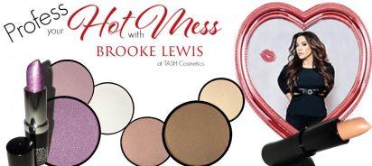 "Photo Credits: Brooke Lewis ""Profess Your Hot Mess"" Makeup Line"